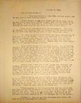Levi Pennington Writing to His Sister Hannah, October 2, 1946
