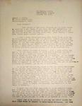 Levi Pennington Writing to Sumner Mills, October 22, 1946