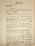 Levi Pennington Writing to Clayton & Louella Brown, January, 14, 1947