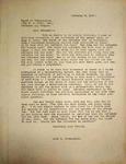 Levi Pennington Writing to the Board of Publication, February 8, 1947