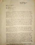 Levi Pennington Writing to  Pickett, Morris, & Newton, April 2, 1947