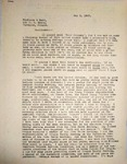 Levi Pennington Writing to Binford & Mort Publishing Company, May 3, 1947