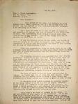 Pennington to Rev. Jake Cunningham, May 20, 1947
