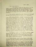 Pennington to Parker Pennington, June 6, 1947