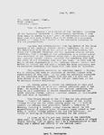 Pennington to Peter Odegard, June 7, 1947