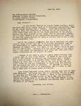 Pennington to Ray Newton, June 20, 1947