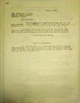 Pennington to Marjorie Votaw, July 3, 1947