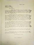 Pennington to Joseph Reece, July 5, 1947