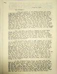 Pennington writing to Lura Miles, July 12, 1947