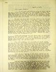 Pennington to His Cousin Grace, August 3, 1947