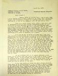Pennington to The American Sunday School Union, August 13, 1947