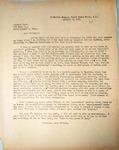 Pennington to Richard Wood, October 2, 1947