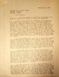 Pennington to Gervas Carey, November 11, 1947