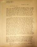 Pennington to Thomas Baird, November 12, 1947