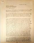 Pennington to Charles Haworth, November 14, 1947