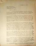 Pennington to Senator Wayne Morse, November 25, 1947
