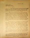 Pennington to Gunther Zampfe, January 13, 1948