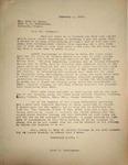 Pennington to Reverend John Canse, February 2, 1948