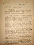 Pennington to Gerald Dillon, March 9, 1948