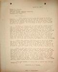 Pennington to Edward Peacock, April 17, 1948