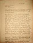 Pennington to Lloyd Baker, April 22, 1948