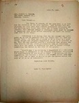Pennington to Rev. Robert Emrick, April 27, 1948