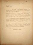 Pennington to Mrs. Peter Zimmerman, May 3, 1948