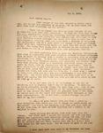 Pennington to Bertha May, May 8, 1948