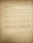 Pennington to Walter Norblad, May 24, 1948
