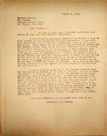 Pennington to Herbert Hoover, August 2, 1948
