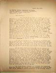 Pennington to Raymond Wilson, August 19, 1948