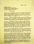 Pennington to William Matchett, June 4, 1965