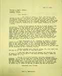 Pennington to Pastor Charles Ball, July 9, 1965
