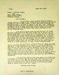 Levi Pennington To Pastor Gerald Dillon and Eldon Helm, August 23, 1965 by Levi T. Pennington