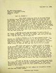 Levi Pennington To Dr. Burt Brown Barker, September 15, 1965