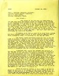 Levi Pennington To John Sullivan, October 20, 1965