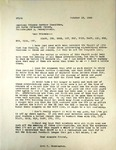 Levi Pennington To American Friends Service Committee, October 25, 1965