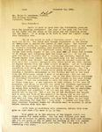 Levi Pennington To Ellis F Lawrence, December 11, 1941