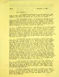 Levi Pennington To Mr and Mrs Diment, February 5, 1966 by Levi T. Pennington