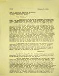 Levi Pennington to John A Sullivan, February 5, 1966 by Levi T. Pennington