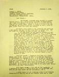 Levi Pennington to Richard F Smith, February 6, 1966 by Levi T. Pennington
