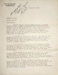 Levi Pennington To T Edmund Harvey, March 27, 1940