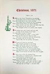 Christmas, 1971 by Levi T. Pennington