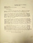 Levi Pennington To Herbert Hoover, March 16, 1930