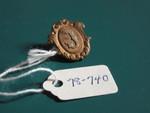 """J"" Lapel Pin by George Fox University Archives"