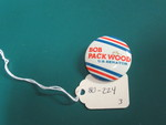 Bob Packwood Lapel Pin by George Fox University Archives