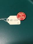 """Good Teeth"" Lapel Pin by George Fox University Archives"