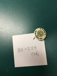 Clover Lapel Pin by George Fox University Archives