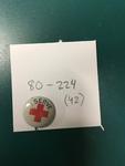 Red Cross Lapel Pin