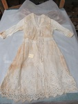Girls' White Cotton Dress by George Fox University Archives